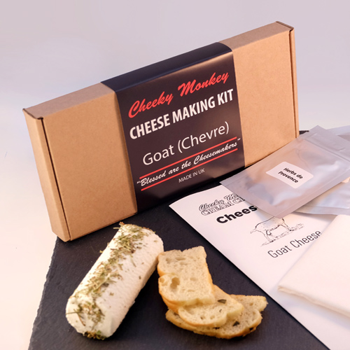 Cheese Making Kit - Goat's Cheese - cheap kit (not a bog cheese making kit!)
